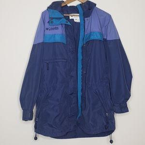 Columbia womans size M vintage jacket windbreaker